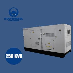 GERADOR DE ENERGIA A DIESEL 250 KVA
